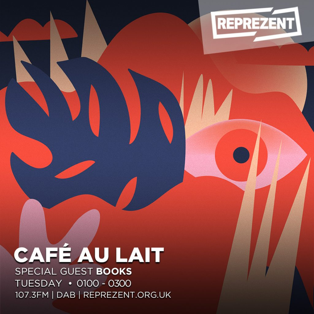Café Au Lait Valentine's Special w/ Mr. Redley & Books – 13th February 2018
